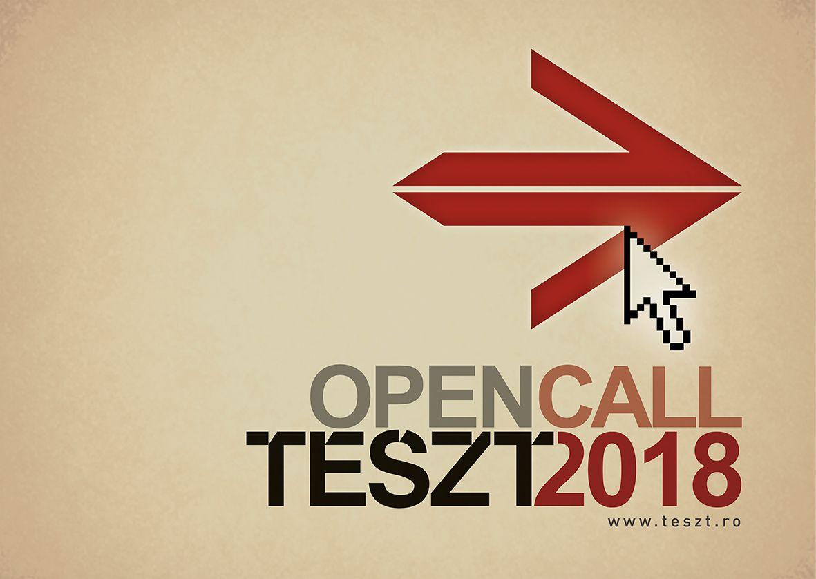 Felhívás: előadások jelentkezését várjuk a TESZT 2018-as kiadására